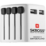 SKROSS Worldwide USB Charger [1.302300] - Universal Travel Adapter